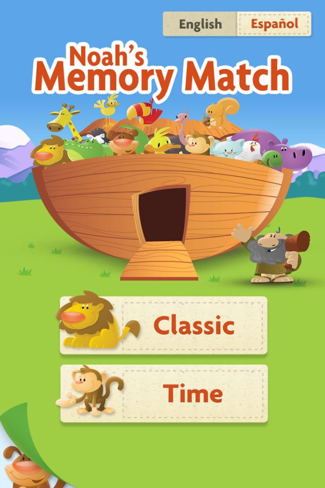 Screenshot Noah's Memory Match