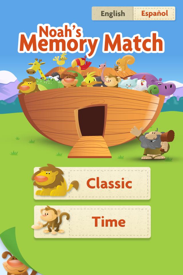 Screenshot Noah's Memory Match