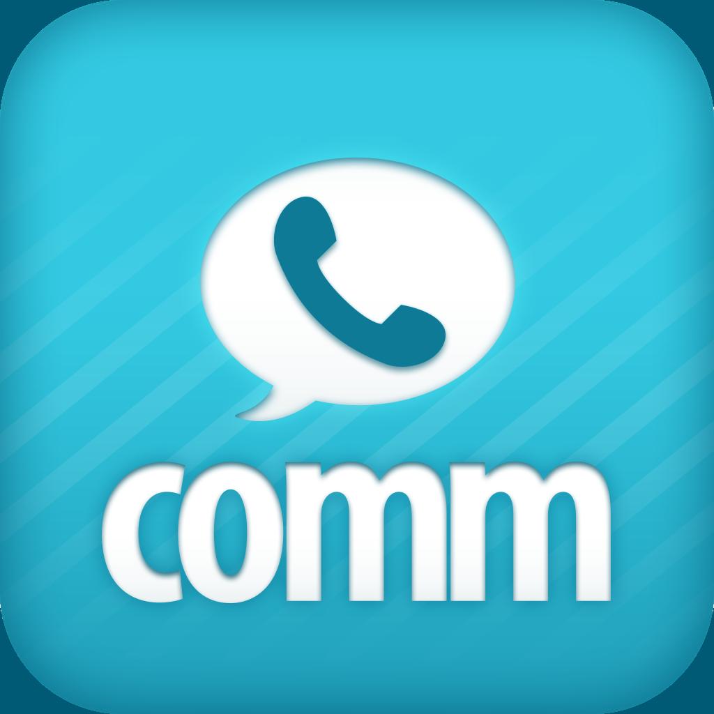 無料通話-comm(コム) もっとつながる、もっと高音質。